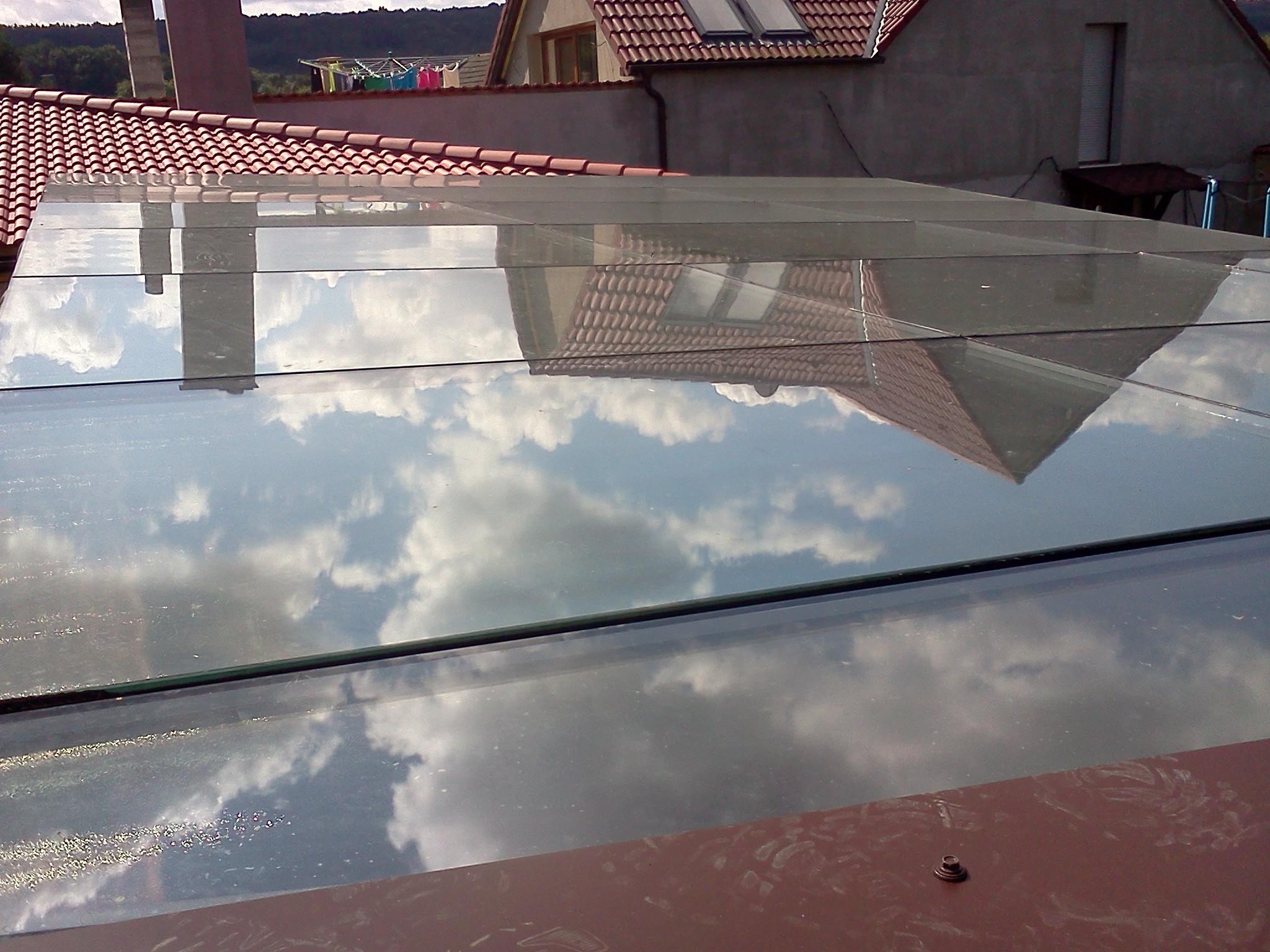 Obrázky / Střecha - dvojsklo