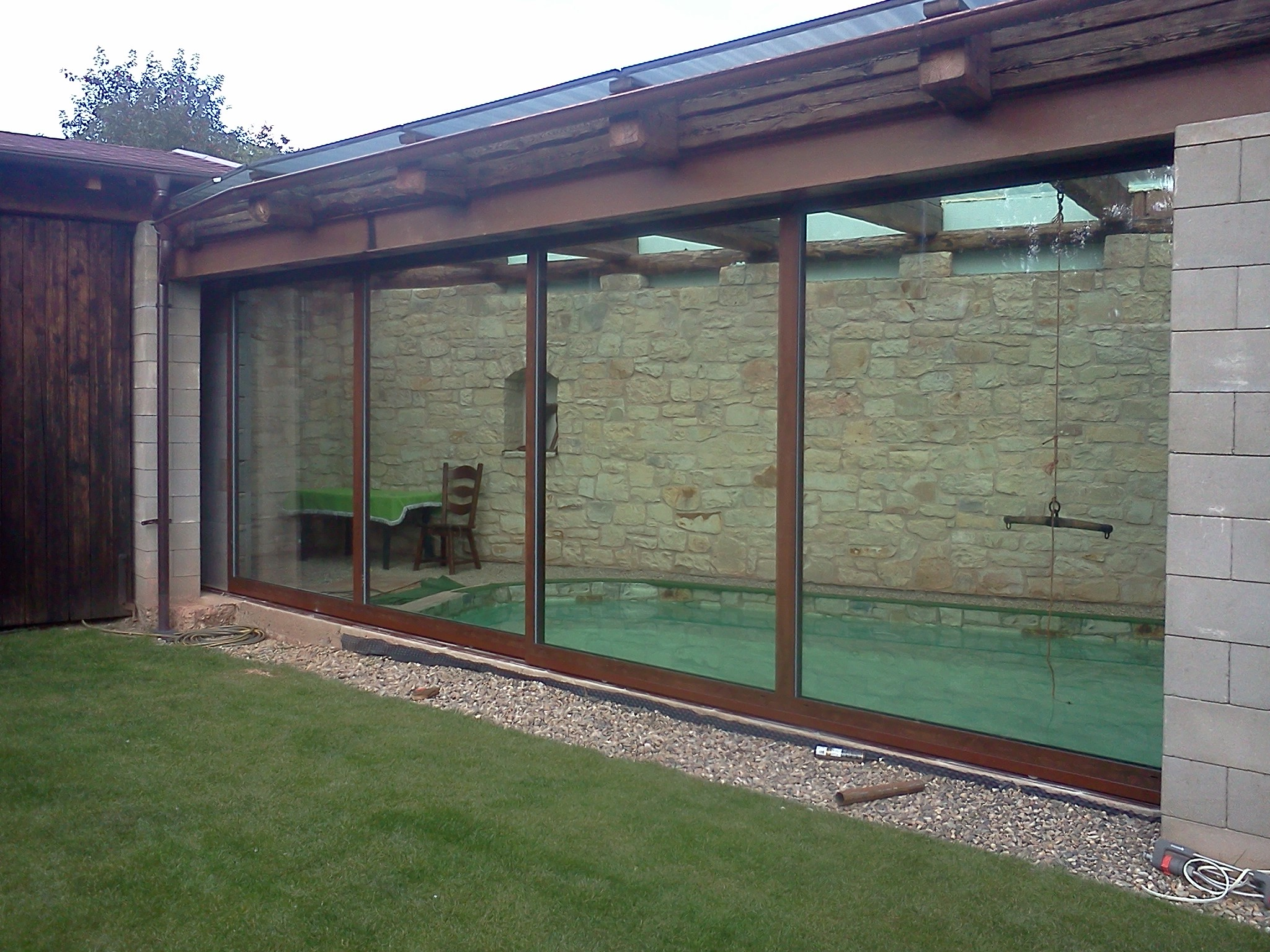 Obrázky / zimní zahrada - bazén